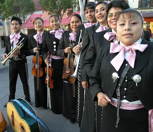 In male world of Mariachi, women sing their own tune