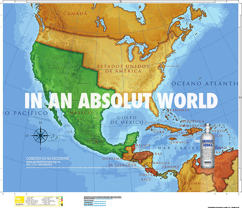 California reclaimed by Mexico? That's the Absolut truth