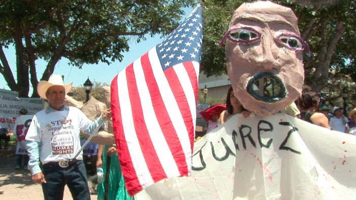 AFP: Cross-border protest asks US to stop funding Mexico's drug war
