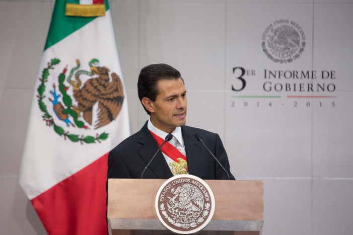 LATimes: Mexico's Peña Nieto acknowledges 'a difficult year' and public anger