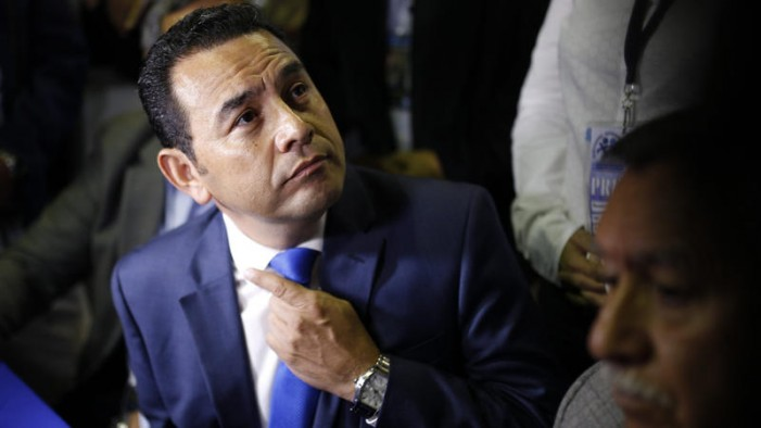 LATimes: Former TV comedian sweeps to power in Guatemalan presidential race
