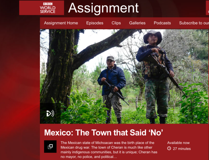 BBC: Mexico — the town that said 'No'